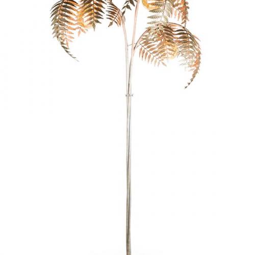 Palm Leaf Floor Lamp Silver The, Palm Floor Lamp Uk
