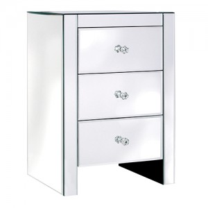 Venetian 3 Drawer Bedside