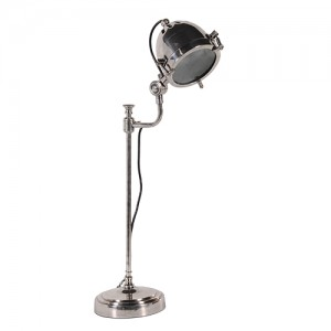 Antiqued Adjustable Desk Lamp