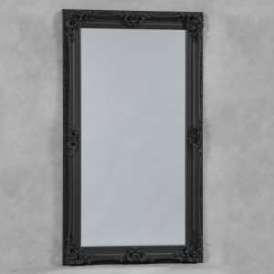 Black Large Regal Mirror