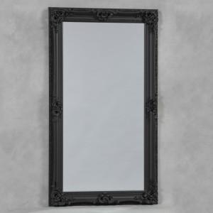 Black Large Regal Mirror