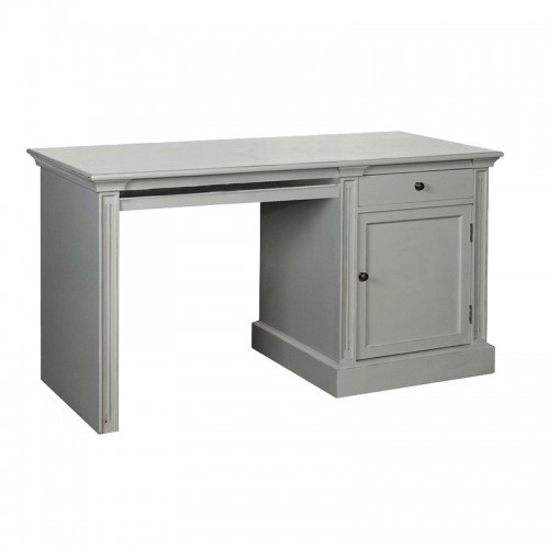 Grey Painted Cupboard Desk