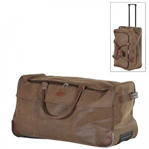 Brown Trolley Bag