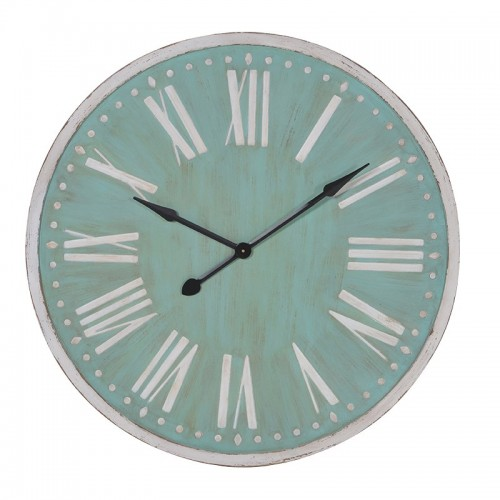 Round Green & White Clock- 92cm