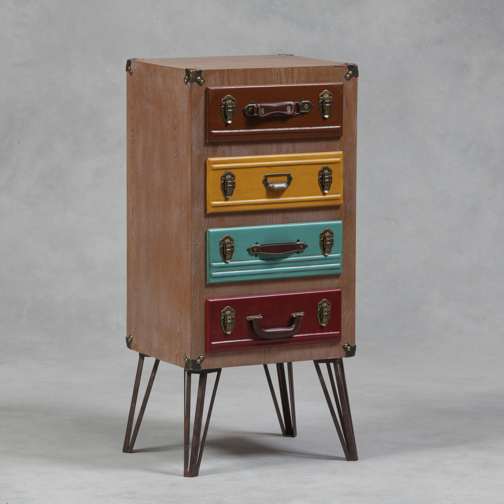 Suitcase With Drawers Suitcase Drawer Voyage Tall Chest Of Drawers The House In Town