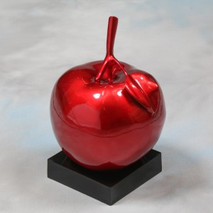 Apple Table Decor Red