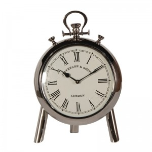 Aluminium Clock On Stand
