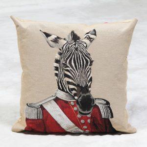 Zulu Zebra 18″ Tapestry Cushion