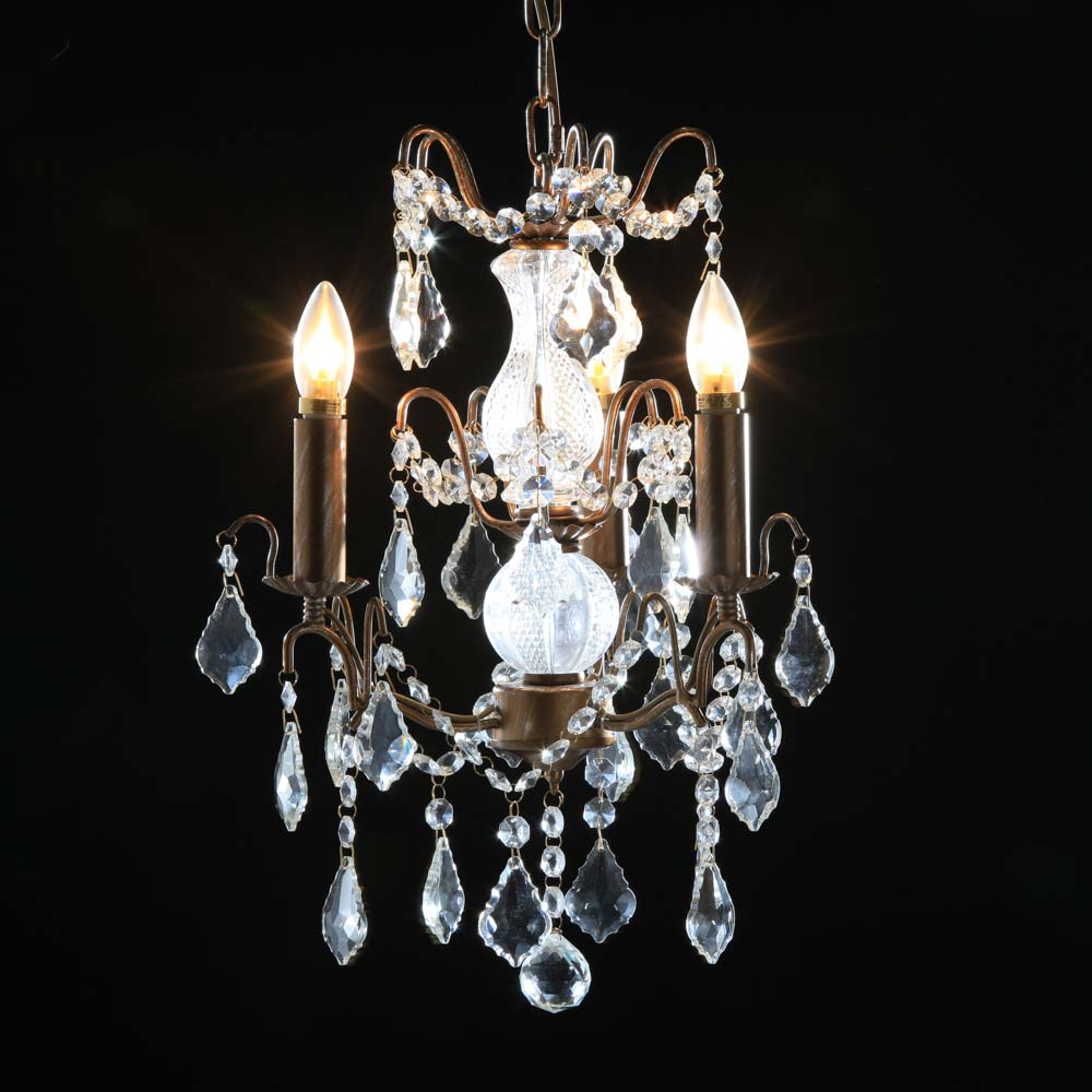 3 branch french gold chandelier the house in town 3 branch french gold chandelier arubaitofo Choice Image