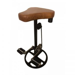bar-stool-bicycle-pedals-foot-rest-iron-base-leather-seat