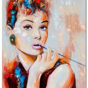 mp78_acrylic_audrey_hepburn_canvas_wall_art