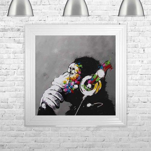 thinking-monkey-headphones-framed-wall-art-p7367-169200_image